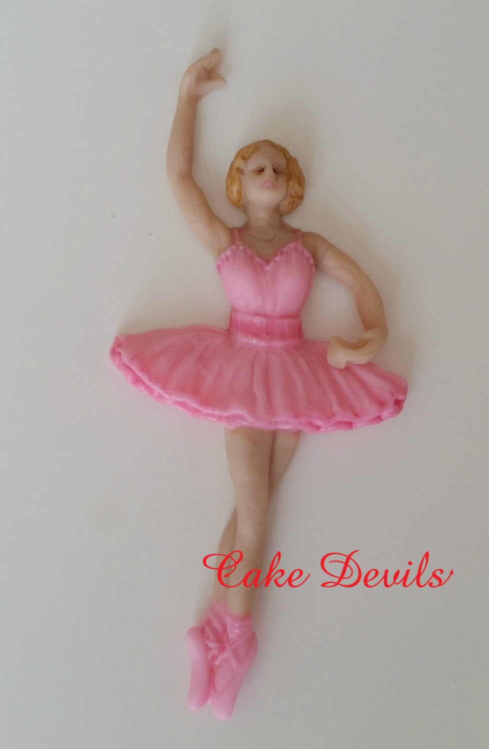 Ballerina cake toppers fondant birthday cake decorations for Ballerina decoration