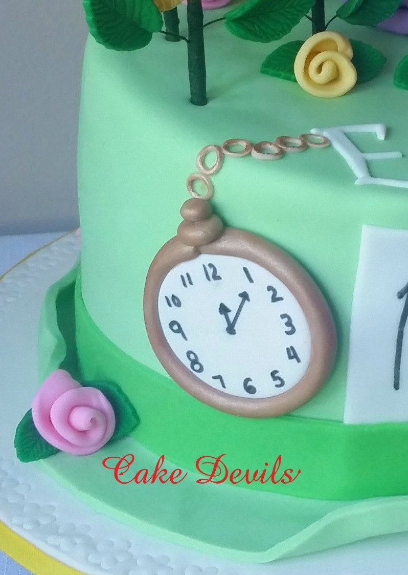 how to make a fondant teapot cake topper