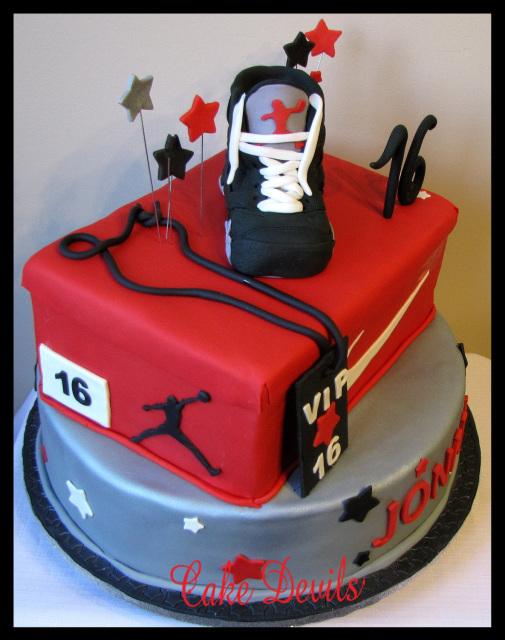 Cake Topper Sneaker